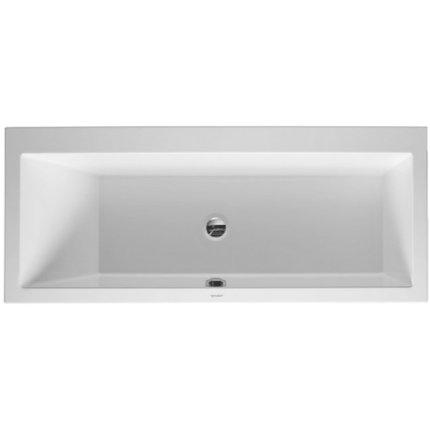 Cada baie rectangulara Duravit Vero 170x75cm, acril, spatar orientare stanga