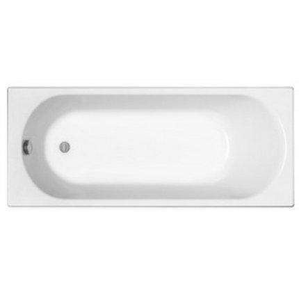 Cada baie rectangulara Kolo Opal Plus 140x70cm, acril, picioare incluse
