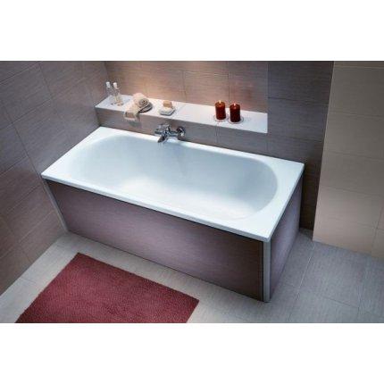 Cada baie rectangulara Kolo Opal Plus 160x70cm, acril, picioare incluse