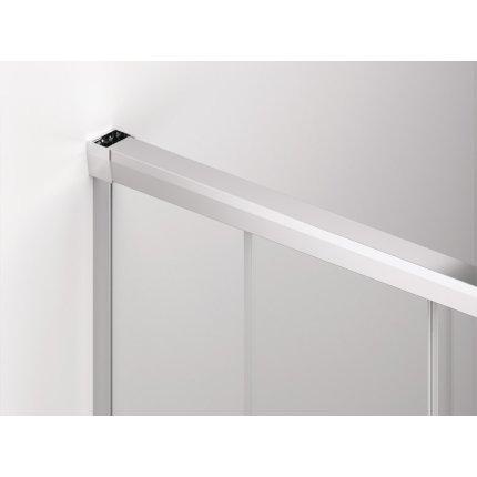 Usa culisanta cu parte fixa Sanswiss Cadura 100cm stanga, sticla securizata 6mm