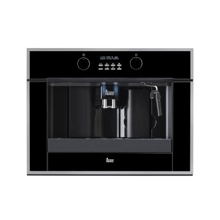 Espressor automat incorporabil Teka CLC 855 GM pompa 15 bari, rasnita cafea, auto- curatare, inox anti-pata/cristal negru