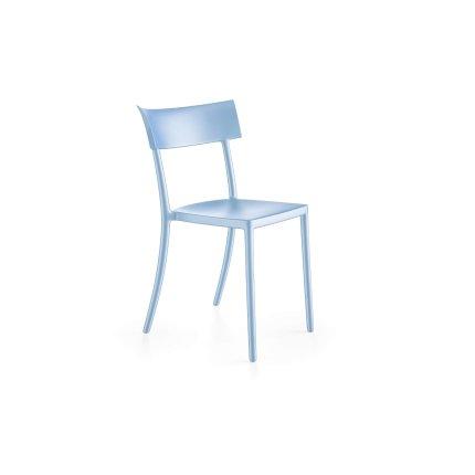 Scaun Kartell Catwalk design Philippe Starck albastru