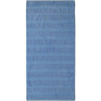 Prosop baie Cawo Noblesse Uni 80x160 cm albastru