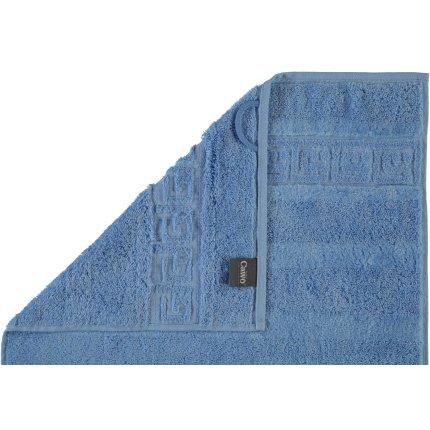 Prosop baie Cawo Noblesse Uni 30x30 cm albastru