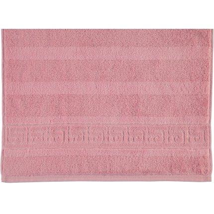 Prosop baie Cawo Noblesse Uni 80x160 cm roz antic