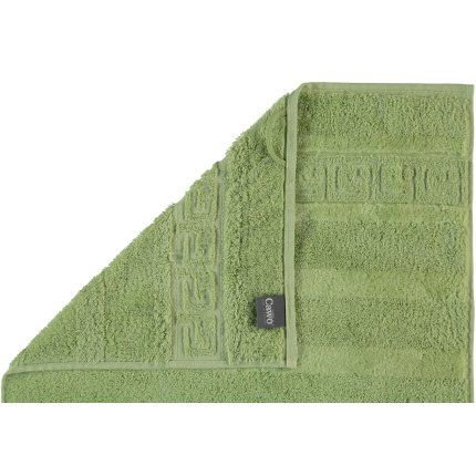 Prosop baie Cawo Noblesse Uni 30x30 cm verde reseda