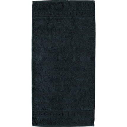 Prosop baie Cawo Noblesse Uni 80x160 cm negru