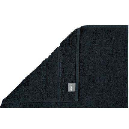 Prosop baie Cawo Noblesse Uni 50x100 cm negru