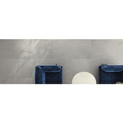 Gresie portelanata rectificata FMG Pietre Quarzite 120x20cm, 10mm, Cenere Strutturato