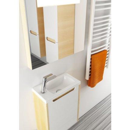 Oglinda cu iluminare Ravak Concept Classic 800, 80x55x7cm, mesteacan