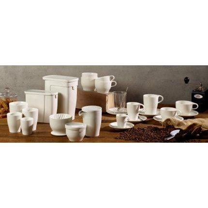 Ceasca si farfuriuta pentru cafea cu lapte Villeroy & Boch Coffee Passion 0.26 litri