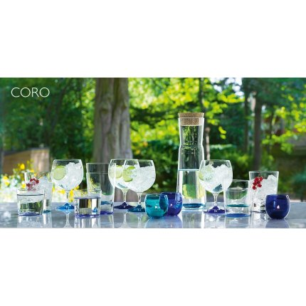 Set 4 pahare LSA International Coro Berry Assorted 310ml