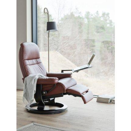 Masuta pentru recliner cu baza Classic Stressless Computer, Whitewash