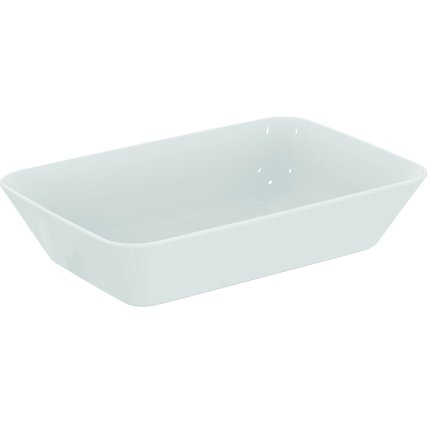 Lavoar tip bol Ideal Standard Connect Air 60x40cm, montare pe blat