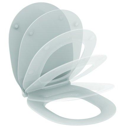 Capac WC Ideal Standard Thin slim cu inchidere lenta pentru Connect Air