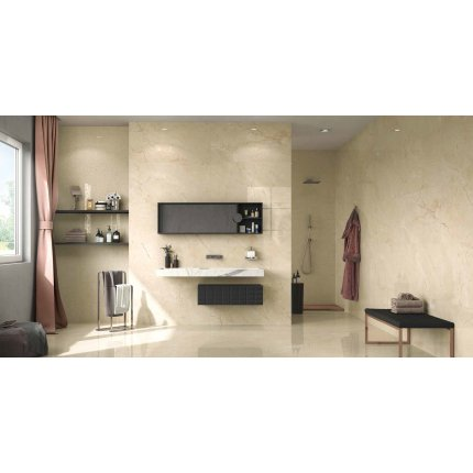 Gresie portelanata rectificata FMG Select 120x60cm, 9mm, Crema Marfil Extra Naturale