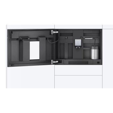 Espressor automat incorporabil Bosch CTL636ES6 Home Connect, 19 bari, rasnita ceramica, SensoFlow, inox