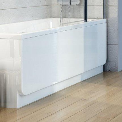 Panou frontal pentru cada Ravak Concept Chrome 160cm, alb