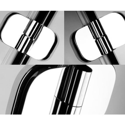 Cabina de dus semirotunda Radaway Torrenta PDJ 90x185cm usa deschidere stanga