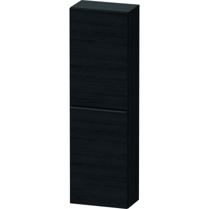 Dulap suspendat Duravit D-Neo cu 2 usi, 40x24cm, Black Oak