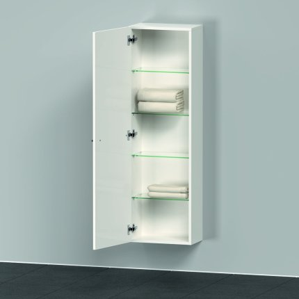Dulap suspendat Duravit D-Neo cu 2 usi, 40x24cm, White High Gloss Decor