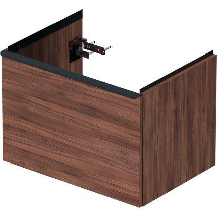 Dulap baza Duravit D-Neo cu 1 sertar, pentru lavoar 65cm, Natural Walnut Decor