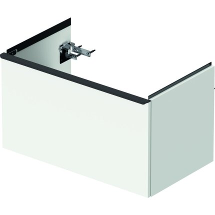 Dulap baza Duravit D-Neo cu 1 sertar, pentru lavoar 80cm, White Matt Decor