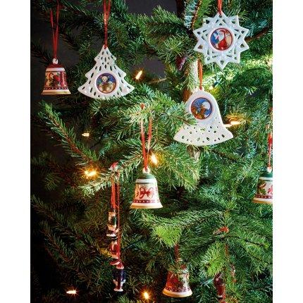 Set 3 decoratiuni Villeroy & Boch My Christmas Tree Santa 21cm