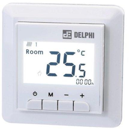 Termostat de ambient cu fir pentru interior Delex DEL9000