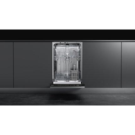 Masina de spalat vase incorporabila Teka DFI 44700, 10 seturi, 7 programe, clasa A++, 45 cm, motor inverter, usa glisanta