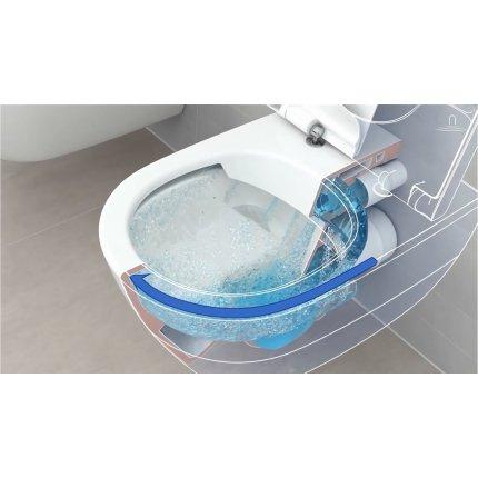 Set vas WC suspendat Villeroy & Boch Avento DirectFlush si capac slim cu inchidere lenta
