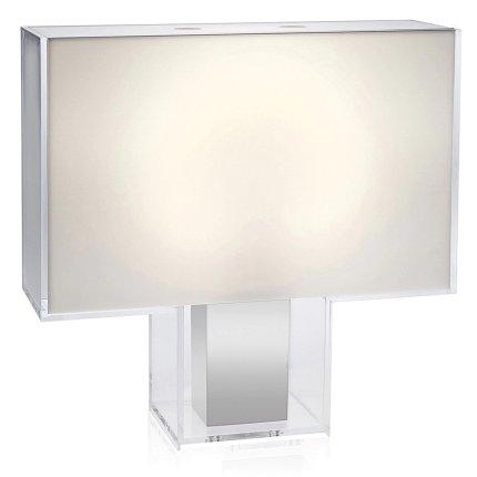 Veioza Kartell Tati design Ferruccio Laviani, 46x47x15cm, alb