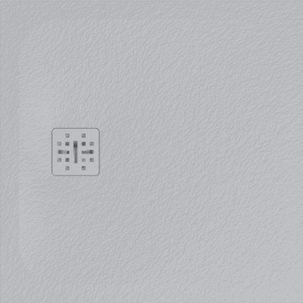 Cadita de dus patrata Globo Docciapietra 80x80x3cm, sifon inclus