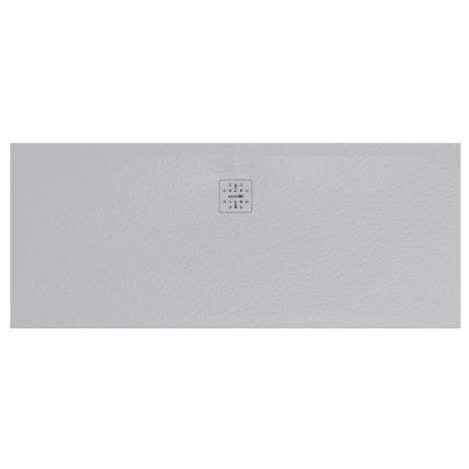 Cadita de dus dreptunghiulara Globo Docciapietra 70x170x3cm, sifon inclus