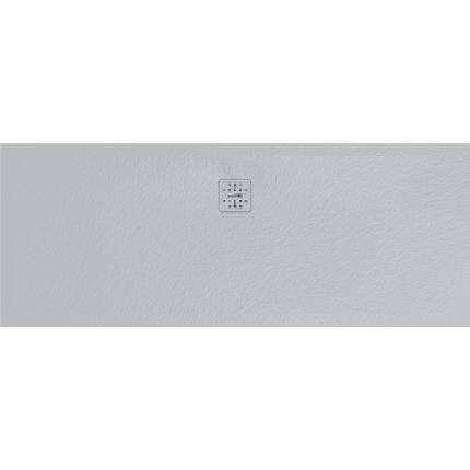 Cadita de dus dreptunghiulara Globo Docciapietra 70x180x3cm, sifon inclus