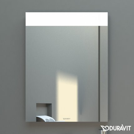 Oglinda cu iluminare Duravit DuraStyle 80x60x4cm