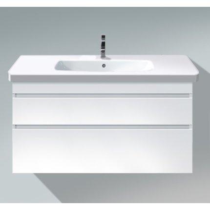 Dulap baza Duravit DuraStyle 113x44.8cm, 2 sertare cu inchidere lenta, alb mat