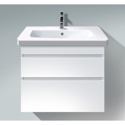 Dulap baza Duravit DuraStyle 73x44.8cm, 2 sertare cu inchidere lenta, alb mat