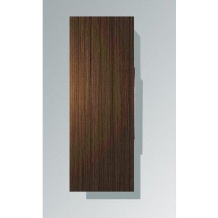 Dulap inalt suspendat Duravit Happy D.2 132x50x24cm, deschidere stanga, stejar inchis