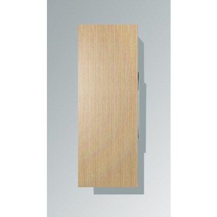 Dulap inalt suspendat Duravit Happy D.2 132x50x24cm, deschidere stanga, stejar european