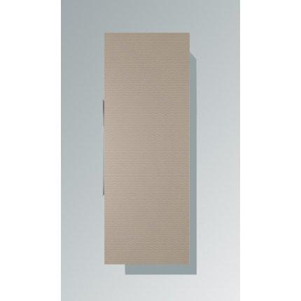 Dulap inalt suspendat Duravit Happy D.2 132x50x24cm, deschidere dreapta, bej decor linen