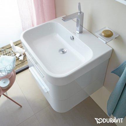 Lavoar Duravit Happy D.2 100cm, montare pe mobilier