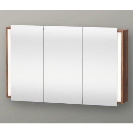 Dulap cu oglinda si iluminare Duravit Ketho 120x75cm, nuc