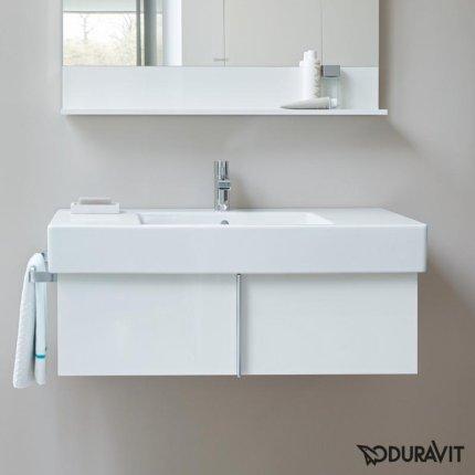 Lavoar Duravit Vero 125cm, montare pe mobilier