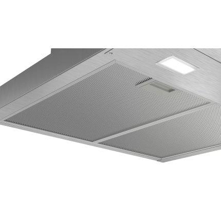 Hota decorativa Bosch DWB66BC50 Serie 2, 60cm, design box, 3 trepte, 621 m³/h, inox