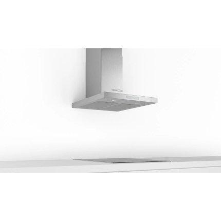 Hota decorativa Bosch DWB67CM50 Serie 6, 60cm, design box, 3 trepte + Intensiv, 671 m³/h Intensiv, inox