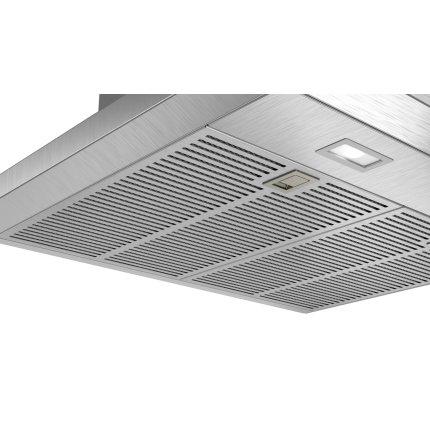 Hota decorativa Bosch DWB67LM50 Serie 6, 60cm, design box, 3 trepte + Intensiv, 646 m³/h Intensiv, inox