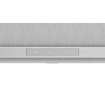 Hota decorativa Bosch DWB97LM50 Serie 6, 90cm, design box, 3 trepte + 2 Intensiv, 697 m³/h Intensiv, inox