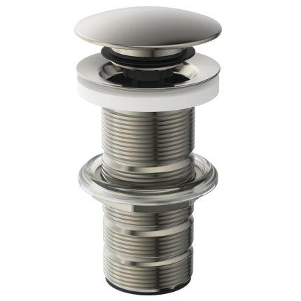 Ventil click-clack Ideal Standard pentru lavoare fara preaplin, silver storm