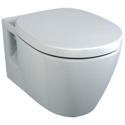 Set vas WC suspendat Ideal Standard Connect cu capac inchidere lenta